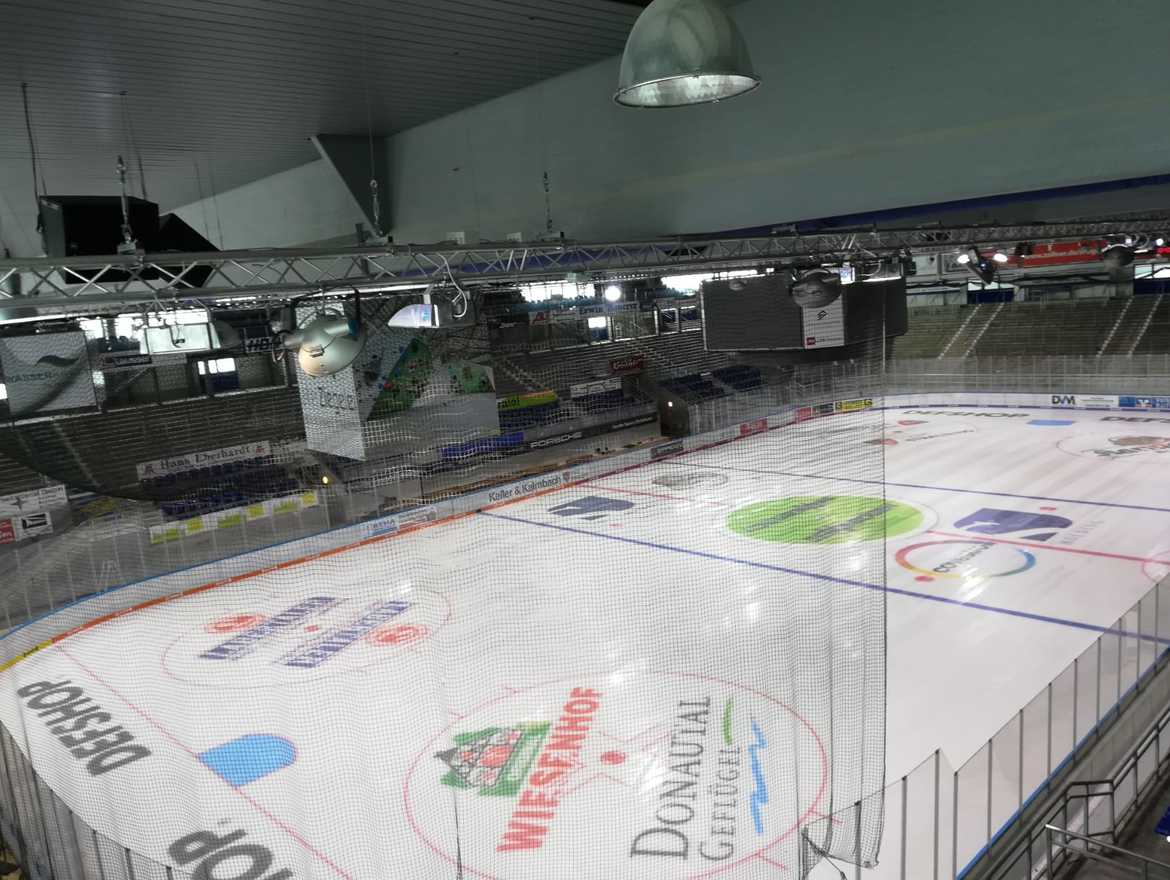 The City of Straubing in Germany is getting a new mobile ice rink for the next 8 months